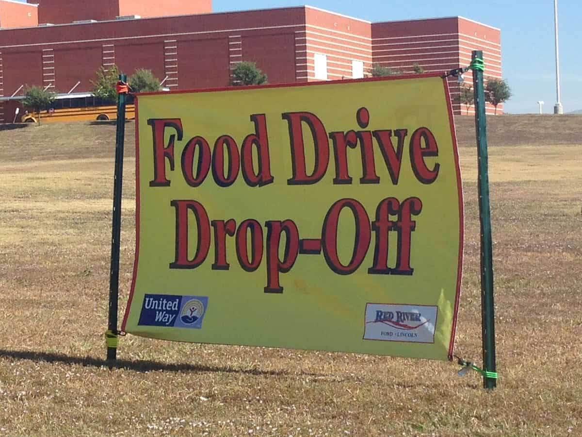 red river ford united way food drive continues through this week bryan county patriot bryan county patriot